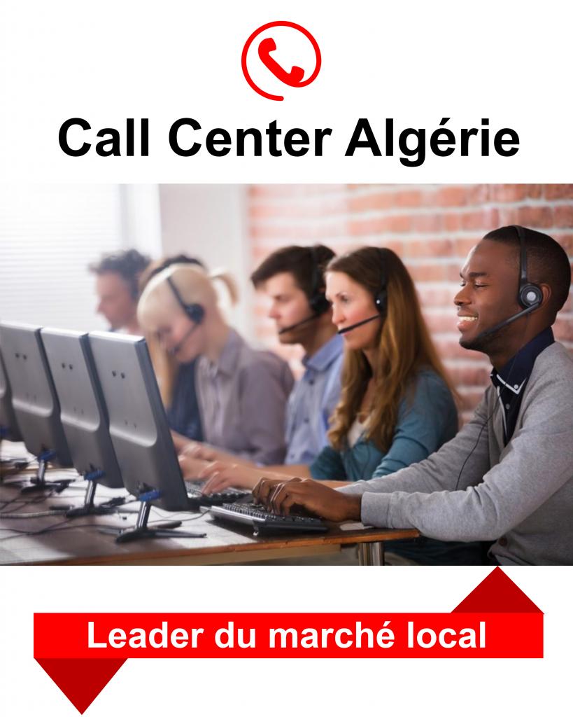 professionnels call center Algérie