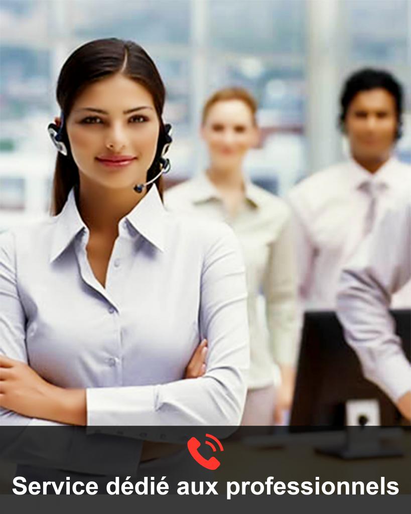 réception d'appels centre d'appel