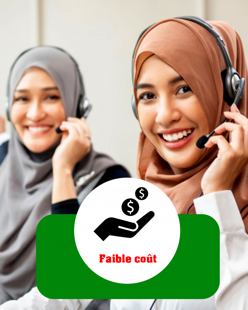 call center low cost