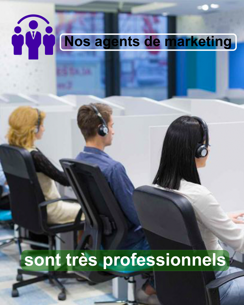 téléopérateur en étude marketing