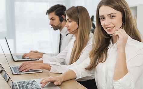 En quoi consiste la qualification des fichiers dans un centre d'appels ?