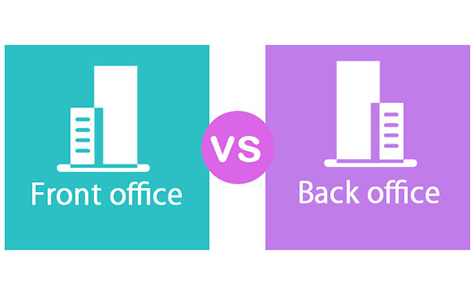 Différence entre back office et front office